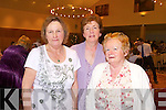 Kathleen Casey, Maureen Griffin and Mary Dineen who attended the Failte PROBUS Fashion Show with Afternoon Tea in the Ballyroe Hotel yesterday  afternoon (Wednesday)
