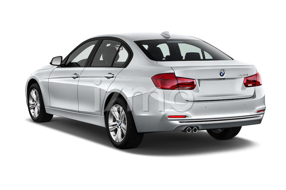 Car pictures of rear three quarter view of 2016 BMW 3 Series 328i 4 Door Sedan Angular Rear