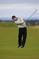 Marcel Siem (GER) on the 17th fairway during round 4 of the Alfred Dunhill Links Championship at Old Course St. Andrew's, Fife, Scotland. 07/10/2018.<br /> Picture Thos Caffrey / Golffile.ie<br /> <br /> All photo usage must carry mandatory copyright credit (&copy; Golffile | Thos Caffrey)