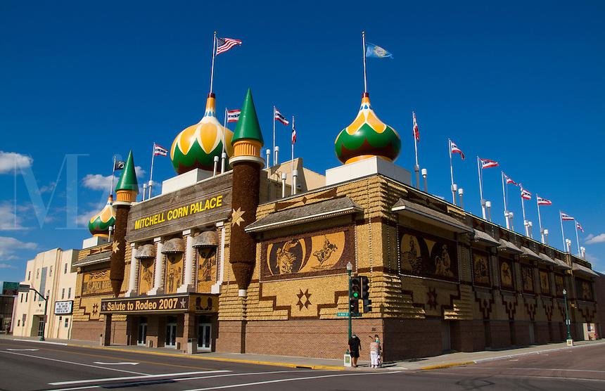 Corn Palace. Made of corn each year, Mitchell, South Dakota