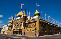 Corn Palace. Made of corn each year, Mitchell, South Dakota