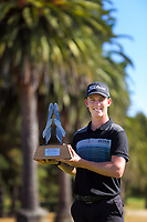 Super 6s champion Daniel Hillier. Final day of the Jennian Homes Charles Tour / Brian Green Property Group New Zealand Super 6s at Manawatu Golf Club in Palmerston North, New Zealand on Sunday, 8 March 2020. Photo: Dave Lintott / lintottphoto.co.nz