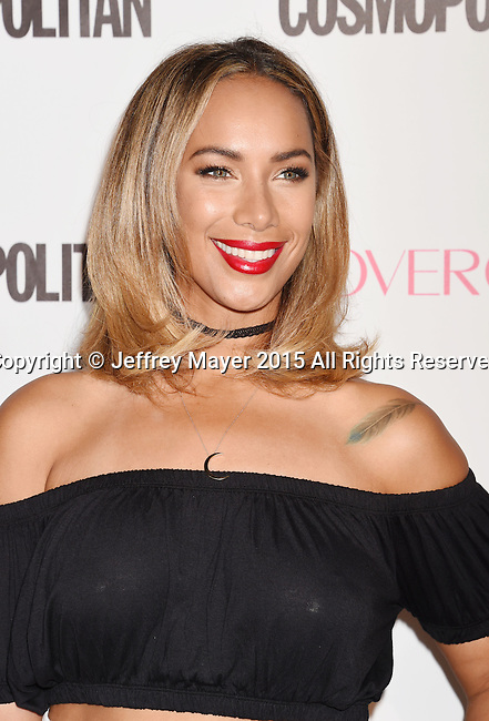 WEST HOLLYWOOD, CA - OCTOBER 12: Singer Leona Lewis arrives at Cosmopolitan Magazine's 50th Birthday Celebration at Ysabel on October 12, 2015 in West Hollywood, California.