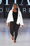 Model walks runway in an outfit from Sita Couture collection fashion show, at The Society Fashion Week on September 9, 2018 at The Roosevelt Hotel in New York City, during New York Fashion Week Spring Summer 2019.