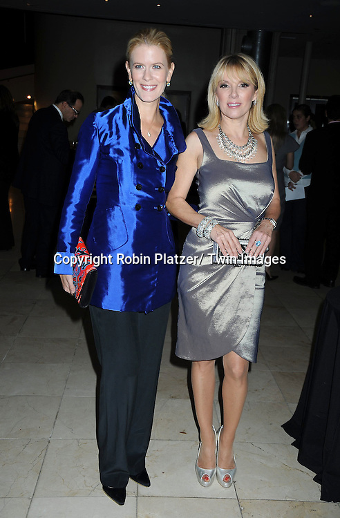 Alex McCord and Ramona Singer attending The Catalogue for Giving of New York City 15th Annual Urban Heroes Awards Benefit on October 27, 2010 at .Guastavinos in New York City.