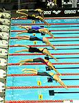 19.08.2014, Velodrom, Berlin, GER, Berlin, Schwimm-EM 2014, im Bild Start, 100m Freestyle - Women<br /> <br />               <br /> Foto © nordphoto /  Engler