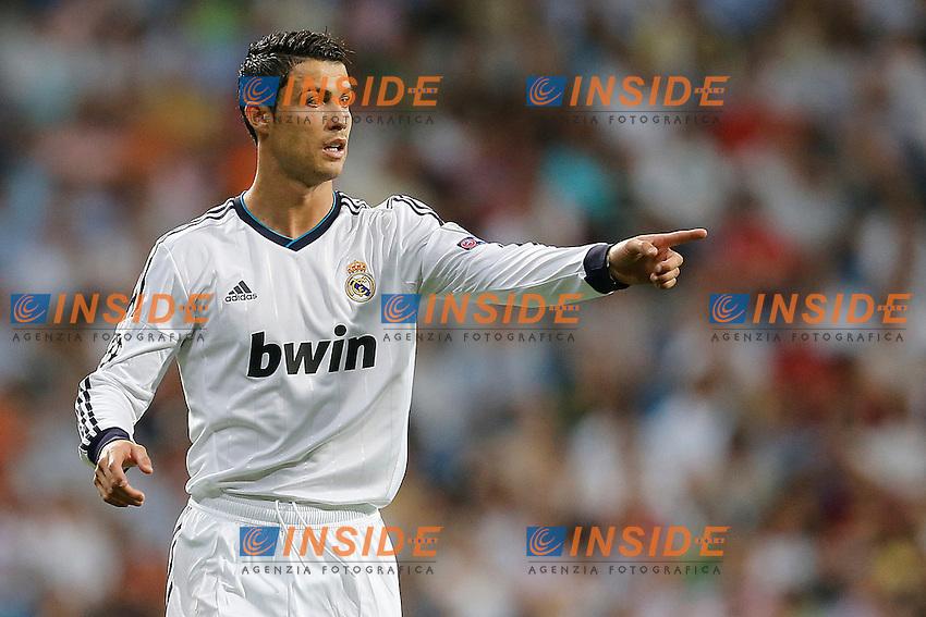 Real Madrid's Cristiano Ronaldo during Champions League match on september 18th 2012...Photo: Cesar Cebola  / ALFAQUI .Madrid 18/9/2012 Stadio Santiago Bernabeu.Football Calcio 2012/2013 Champions League.Real Madrid Vs Manchester City .Foto Insidefoto