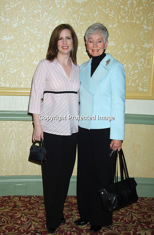 Martha Byrne and Kathryn Hays..at The New York Women in Film and Televison 25th Annual ..Muse Awards Luncheon on December 13, 2005 at The New York Hilton Hotel. ..Photo by Robin Platzer, Twin Images