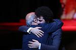 "Saeed Roustaee, November 05, 2019 - Saeed Roustaee, speak after winning ""Award for Best Director"" for the film ""Just 6.5 [Metri Shesh Va Nim]""during the 32nd Tokyo International Film Festival, award ceremony, in Tokyo, Japan on November 05, 2019. (Photo by 2019 TIFF/AFLO)"