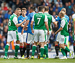 Anthony Stokes, Bruno Alves and Ryan Jack