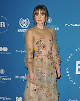 Molly Wright at the British Independent Film Awards (BIFA) 2018, Old Billingsgate Market, Lower Thames Street, London, England, UK, on Sunday 02 December 2018.<br /> CAP/CAN<br /> &copy;CAN/Capital Pictures