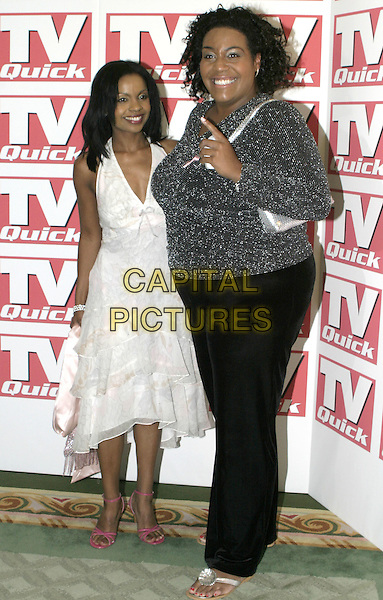 ALISON (BIG BROTHER).TV Quick Awards 2004, The Dorchester Hotel, London, September 6th 2004..full length.Ref: AH.www.capitalpictures.com.sales@capitalpictures.com.©Capital Pictures.