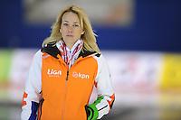 SCHAATSEN: Calgary: Essent ISU World Sprint Speedskating Championships, 28-01-2012, trainster Marianne Timmer, Team LIGA, ©foto Martin de Jong