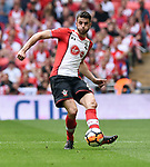 Wesley Hoedt of Southampton during the FA cup semi-final match at Wembley Stadium, London. Picture date 22nd April, 2018. Picture credit should read: Robin Parker/Sportimage