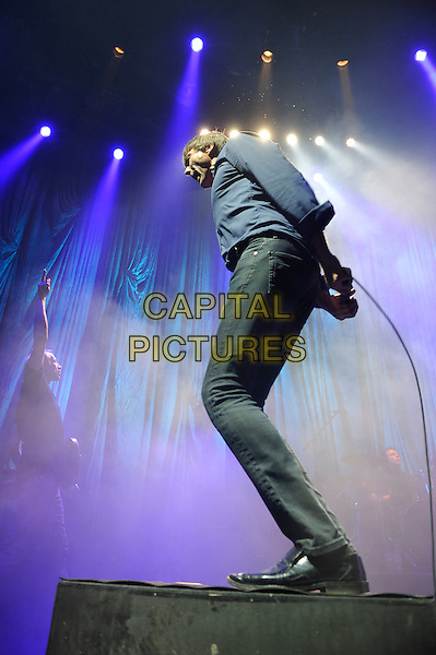 LONDON, ENGLAND - NOVEMBER 13: Brett Anderson of 'Suede' performing at The Roundhouse, Camden on November 13, 2015 in London, England.<br /> CAP/MAR<br /> &copy; Martin Harris/Capital Pictures