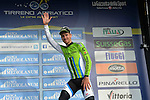 Peter Sagan (SVK) Cannondale wins Stage 3 of the 2014 Tirreno-Adriatico, running  from Càscina to Arezzo (210 km). 14th March 2014.      <br /> Photo: Gian Mattia D'Alberto/LaPresse/www.newsfile.ie