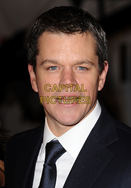 Sunday 31 January 2010    Matt Damon at the premiere of Invictus, Odeon West End, London.<br /> CAP/CK<br /> &copy;CK/Capital Pictures
