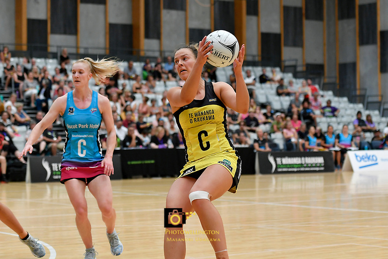 Pulse&rsquo; Claire Kersten in action during the  Preseason Tournament - Pulse v Steel at Ngā Purapura, Otaki, New Zealand on Sunday 10 February  2019. <br /> Photo by Masanori Udagawa. <br /> www.photowellington.photoshelter.com
