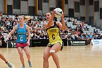 Pulse' Claire Kersten in action during the  Preseason Tournament - Pulse v Steel at Ngā Purapura, Otaki, New Zealand on Sunday 10 February  2019. <br /> Photo by Masanori Udagawa. <br /> www.photowellington.photoshelter.com