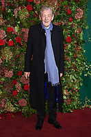Sir Ian McKellen<br /> arriving for the 2018 Evening Standard Theatre Awards at the Theatre Royal Drury Lane, London<br /> <br /> ©Ash Knotek  D3460  18/11/2018