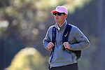WILMINGTON, NC - OCTOBER 27: Penn State assistant coach Andrew Breon. The first round of the Landfall Tradition Women's Golf Tournament was held on October 27, 2017 at the Pete Dye Course at the Country Club of Landfall in Wilmington, NC.