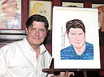 Michael McGrath.attending the unveiling of the Sardi's caricature for the Tony Award-winning star of 'Nice Work If You Can Get It', Michael McGrath on July 12, 2012 in New York City.