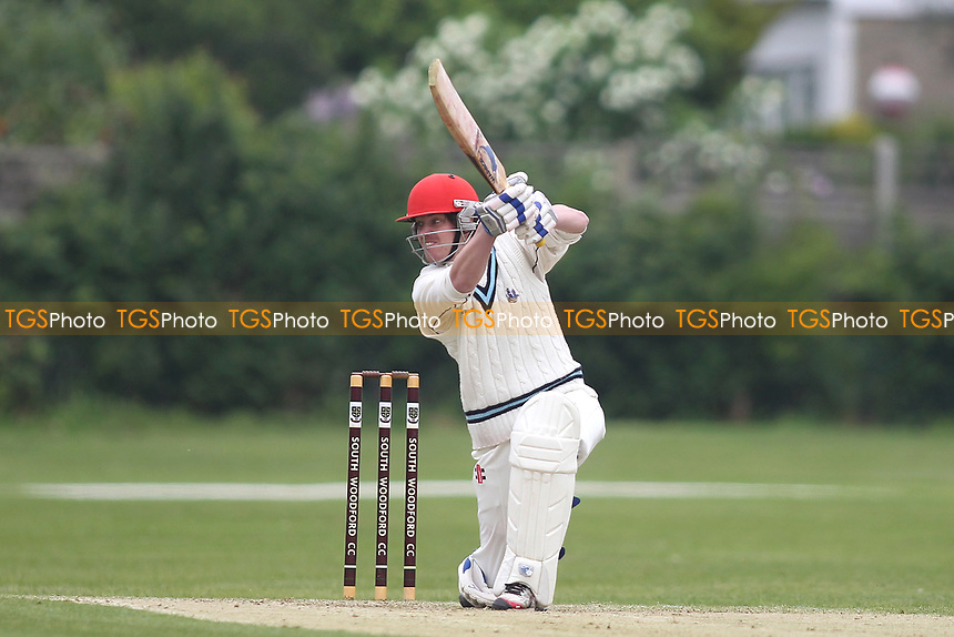 David Houghton of Billericay during South Woodford CC vs Billericay CC, Shepherd Neame Essex League Cup Cricket at Highfield Road on 6th May 2017