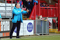 Tranmere Rovers manager Micky Mellon during Dagenham & Redbridge vs Tranmere Rovers, Vanarama National League Football at the Chigwell Construction Stadium on 10th March 2018