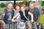 Roy Gabbot Beaufort, Brid, Rayann and Tom Coffey Fossa enjoying the bikes during the Irish Motor Bike rally in the Gleneagle Hotel Killarney on Saturday    Copyright Kerry's Eye 2008