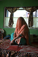 """India – West Bengal: Fulkumari Rai (not her real name), 41, works as a plucker at Makaibari Tea Estates, in the Darjeeling region. Despite Makaibari being one of the most popular tea estates in the region, whose retail tea price can reach up to 1,850 USD per kg, Rai complains workers are constantly neglected by the management. """"From the outside everything looks nice, but it's only us who know how difficult is to survive here"""" she says."""
