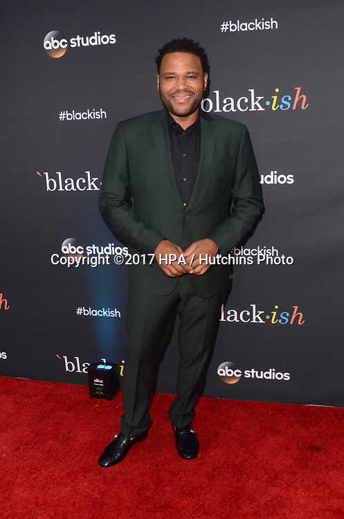 "LOS ANGELES - APR 12:  Anthony Anderson at the ""Blackish"" FYC Event at the Television Academy, on April 12, 2017 in North Hollywood, CA"