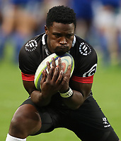 DURBAN, SOUTH AFRICA - MAY 27: Lwazi Mvovo of the Cell C Sharks during the Super Rugby match between Cell C Sharks and DHL Stormers at Growthpoint Kings Park on May 27, 2017 in Durban, South Africa. Photo by Steve Haag / stevehaagsports.com