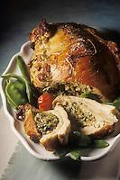 Gastronomie générale / Cuisine générale : Poitrine de veau farcie et braisée