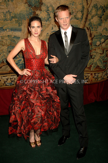 WWW.ACEPIXS.COM . . . . . ....November 15 2007, New York City......Actress Jennifer Connolly and Paul Bettany arriving at the 2007 '7th on Sale' Gala at the 69th Regiment Armory in midtown Manhattan.....Please byline: DENNIS VAN TINE - ACEPIXS.COM.. . . . . . ..Ace Pictures, Inc:  ..(646) 769 0430..e-mail: info@acepixs.com..web: http://www.acepixs.com