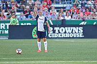 Portland, OR - Saturday July 22, 2017: Whitney Church during a regular season National Women's Soccer League (NWSL) match between the Portland Thorns FC and the Washington Spirit at Providence Park.
