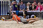 09.05.2015, Muenster, Schlossplatz<br /> smart beach tour, Supercup MŸnster / Muenster, Hauptfeld<br /> <br /> Abwehr Sebastian Windscheif <br /> <br />   Foto &copy; nordphoto / Kurth