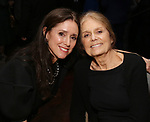 Julie Taymor and Gloria Steinem attends the 20th Anniversary Performance of 'The Lion King' on Broadway After Party at The Minskoff Theatre on November 5, 2017 in New York City.