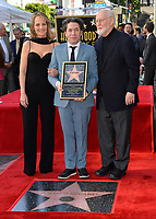 LOS ANGELES, CA. January 22, 2019: Helen Hunt, Gustavo Dudamel & John Williams at ceremony where conductor Gustavo Dudamel received a star on the Hollywood Walk of Fame.<br /> Picture: Paul Smith/Featureflash