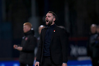 8th November 2019; Dens Park, Dundee, Scotland; Scottish Championship Football, Dundee Football Club versus Dundee United; Dundee manager James McPake  - Editorial Use