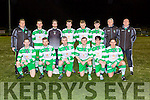The Killarney Celtic team that played Shannon in the FAI cup in Killarney on Saturday