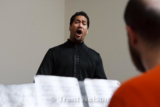 Trent Nelson  |  The Salt Lake Tribune.Ta'u Pupu'a is a tenor studying at The Juilliard School in New York City. Pupu'a grew up in Salt Lake City and played football for Weber State before spending two years in the NFL. Friday, October 8, 2010