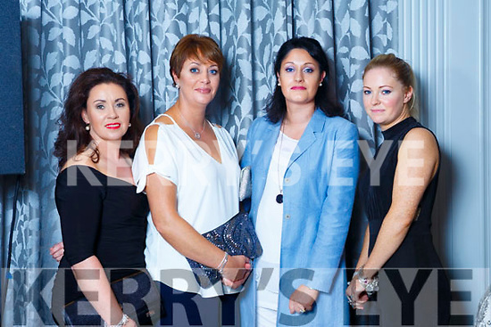 Marlyn Duffy(Cork), Mary Moloney(Kilflynn), Nora Brady(Kilflynn) and Katie O'Connell(Kilflynn).