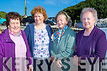 MASS: At the Pattern Day Mass at St Mary's Well,Ballyheigue on Monday l-r: Bridie McGovern (Tralee), Mary Griffin (Causeway), Bridie Kelly (Tralee) and Joan Carroll.