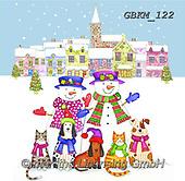 Kate, CHRISTMAS SANTA, SNOWMAN, WEIHNACHTSMÄNNER, SCHNEEMÄNNER, PAPÁ NOEL, MUÑECOS DE NIEVE, paintings+++++Christmas page 100,GBKM122,#x#