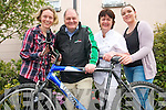 The Kerry Cork Health Link Bus are appealing for more cyclists to take part in the Ring of Kerry annual cycle to raise funds for the cancer support service. .L-R Carmel O'Connor, Manager Sean Prendergast, Breda Woulfe and Natalie Kelliher.
