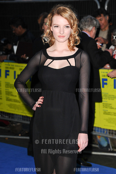 "Dakota Blue Richards arriving for the ""Filth"" premiere at the Odeon Leicester Square, London. 30/09/2013 Picture by: Steve Vas / Featureflash"