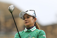 Ai Miyazato (JPN) playing her final tournament of her career   tees off the 8th tee during Wednesday's Pro-Am Day of The Evian Championship 2017, the final Major of the ladies season, held at Evian Resort Golf Club, Evian-les-Bains, France. 13th September 2017.<br /> Picture: Eoin Clarke | Golffile<br /> <br /> <br /> All photos usage must carry mandatory copyright credit (&copy; Golffile | Eoin Clarke)