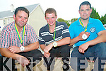 Winners at the Sneem shearing competitions at the Sneem Family Festival..L_R Peter Hussey, PJ Browne and Sean O'Sullivan.
