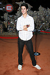 Actor David Henrie arrives at the Disney-Pixar's WALL-E Premiere on June 21, 2008 at Greek Theatre in Los Angeles, California.