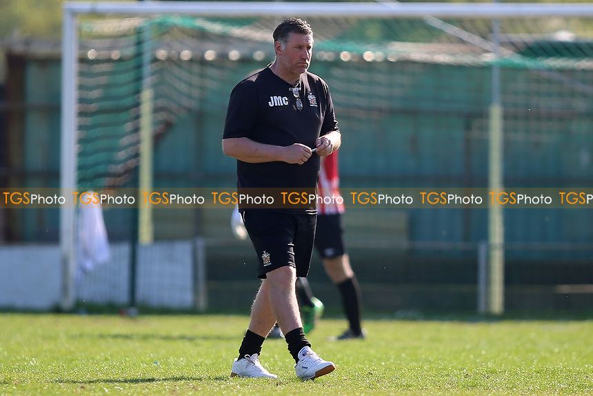 Jimmy Mcfarlane manager of Hornchurch during Waltham Abbey vs AFC Hornchurch, Ryman League Division 1 North Football at Capershotts on 8th April 2017